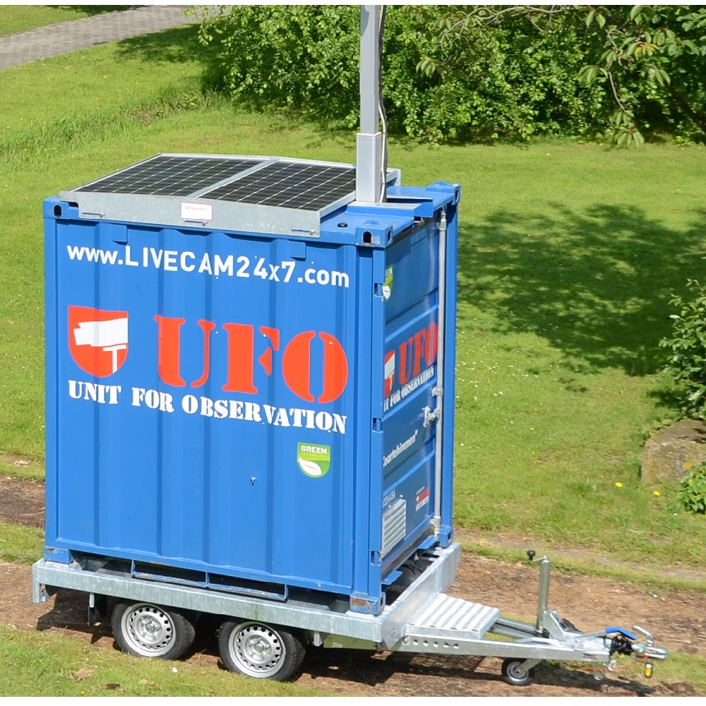 daadwerkelijke camera container unit