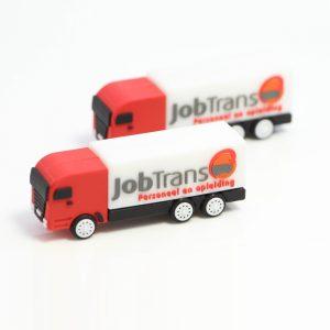 USB stick in de vorm van een vrachtwagen