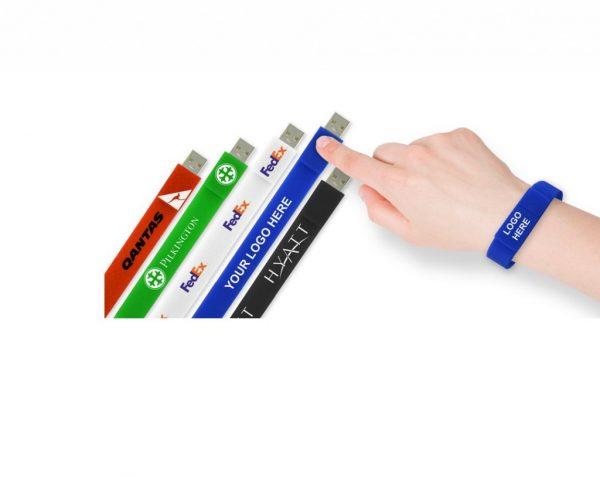 Armband-USB-stick met logo