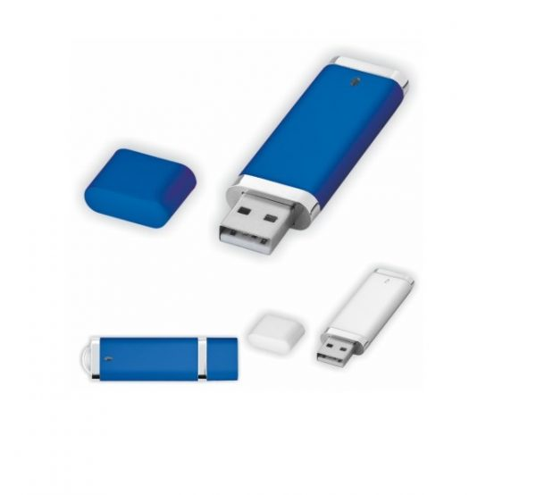 Hip-USB-stick blauw en wit