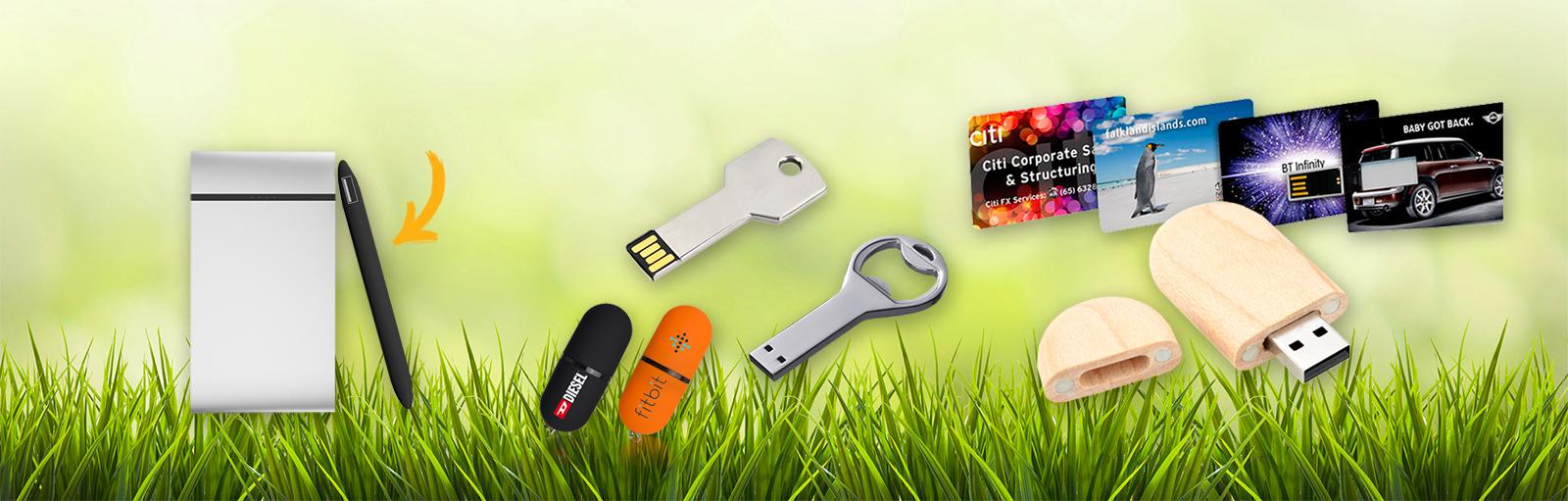 Gratis powerbank cadeau bij uw USB bestelling